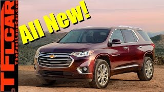 2018 Chevy Traverse Crossover: Everything You Ever Wanted to Know