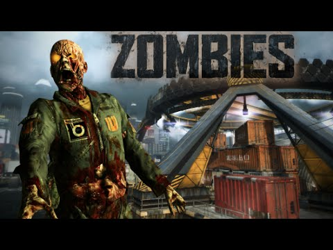 "CARGO ZOMBIES (BO2 Multiplayer Map Remake) Call of Duty WaW ""Custom Zombies"" Ending"