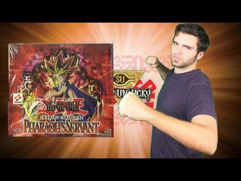 Yugioh Booster Box Battles! MRD vs PSV Pharaoh's Servant Opening! ..Original Jizno!?..OH BABY!!