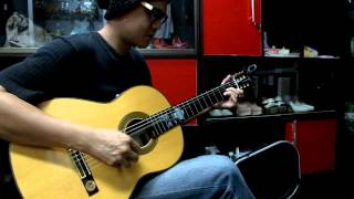 Test Zoom H2n On Classic Guitar YAMAHA  CG-171S