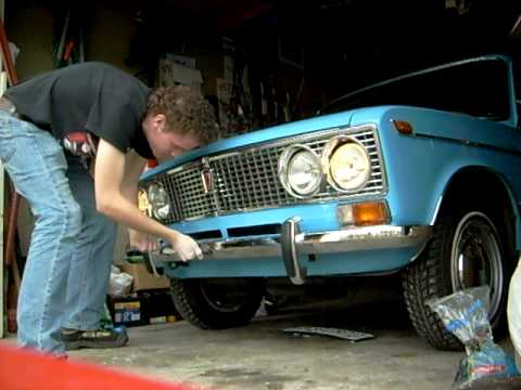 Lada Hand Crank Start Youtube