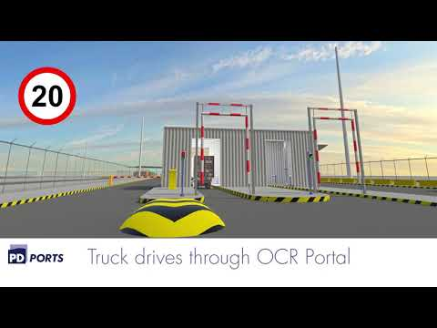 Teesport Automated Gate Overview