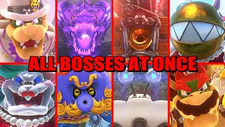 What If You Fight All Bosses The Same Time in Super Mario Odyssey