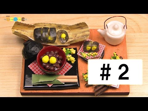 Billy 【Miniature sweets kit】Japanese Chestnut Dessert Set #2 ミニチュア栗づくし