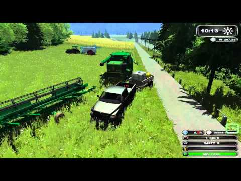 John Deere Action Farming Simulator 2011