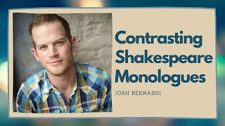 """Contrasting Shakespeare Monologues: """"Julius Caesar"""" and """"The Comedy of Errors"""""""