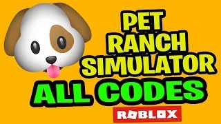 Pet Ranch Simulator Codes All *WORKING CODES* | 60M VISITS UPDATE| ROBLOX 2019 JULY