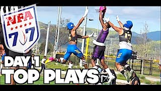 🔥🔥 NFA7V7 West Regional - Day One TOP PLAYS - Under The Radar Highlight Mix