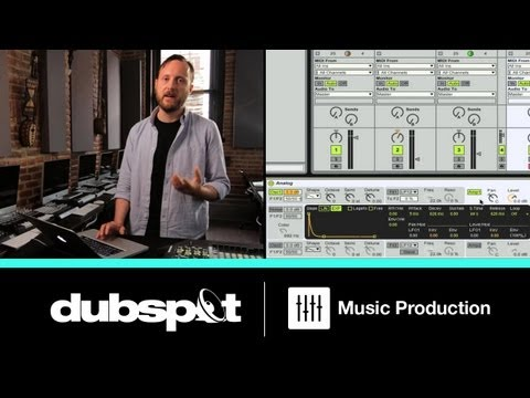 Ableton Live Tutorial: Techno Fundamentals Pt 2 - One Note To Rule Them All - Synth + Macros