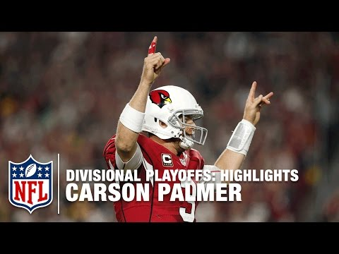 Carson Palmer Highlights (Divisional Playoffs) | Packers vs. Cardinals | NFL