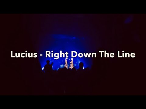 Lucius - Right Down The Line - Acoustic Tour 2018 - Boulder Theater - Boulder, CO - March 10th, 2018