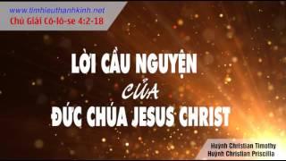 Lời Cầu Nguyện của Đức Chúa Jesus Christ