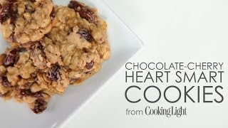 How to Make Chocolate-Cherry Heart Smart Cookies  MyRecipes