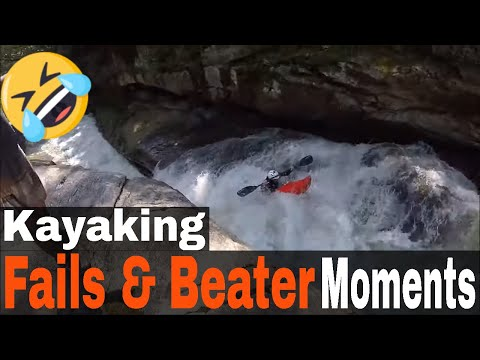 Compilation of Kayak Fails & Beater Moments