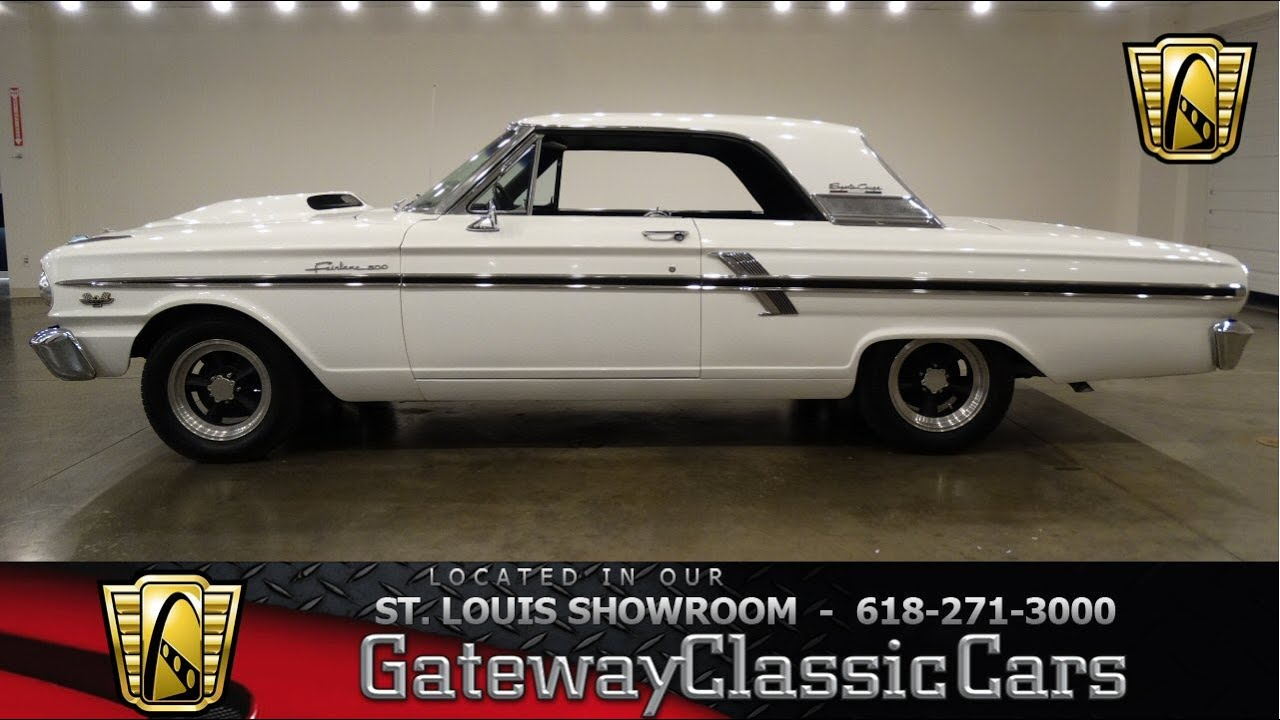 1964 ford fairlane thunderbolt gateway classic cars st louis 6591