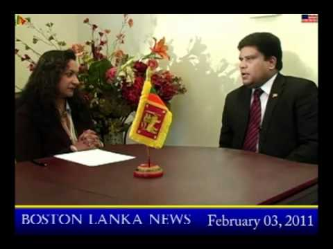 Maj.Gen. Shavendra Silva in Boston : A Different Kind of 'Confrontation'  2011