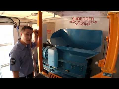 What type of material does Shred-it shred?