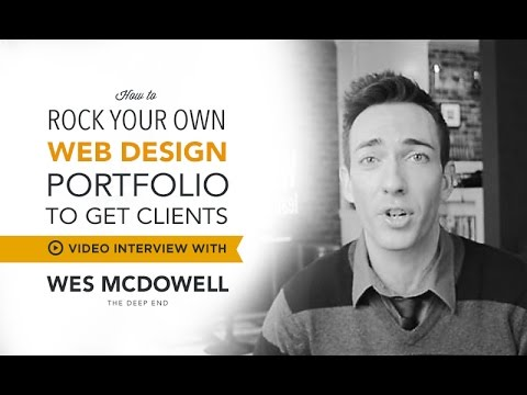 How To Rock Your Own Web Design Portfolio To Get Clients