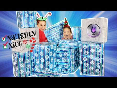 NAUGHTY vs NICE CHRISTMAS PRESENTS ' SIRI PICKS ' |. SISTER FOREVER