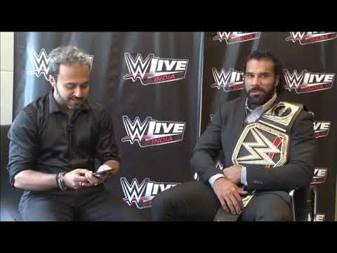 Jinder Mahal Facebook Live interview from Mumbai, India | WWE | WWE INDIA | WWE LIVE INDIA 2017