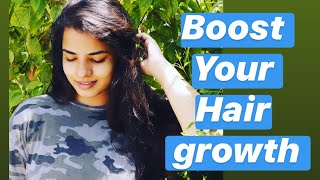 Boost your hair growth ? Try this