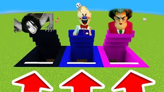 Minecraft PE : DO NOT CHOOSE THE WRONG PORTAL! (Heobrine,Sadako,FreddyFazebear)