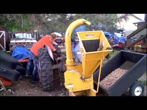 Make Wood Chipper Throw 2x as far and never clog