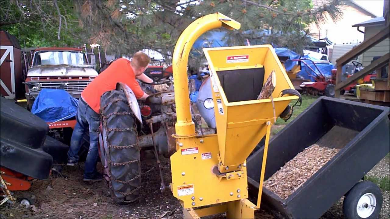 Make Wood Chipper Throw 2x as far and never clog - YouTube