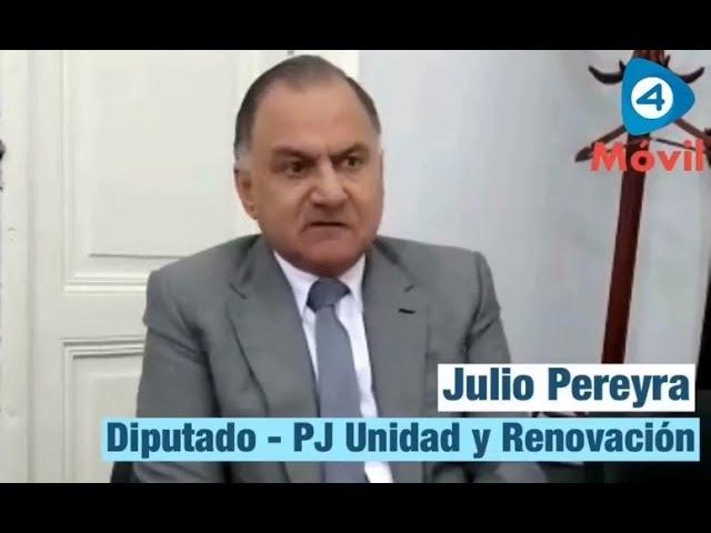 """Julio Pereyra sobre el pacto fiscal: """"Hay que rediscutir cómo se distribuyen los recursos de la Provincia de Buenos Aires"""""""