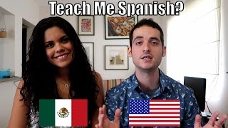 Learning Spanish with my Mexican Girlfriend ! 😀😂 (Mexico City Travel)