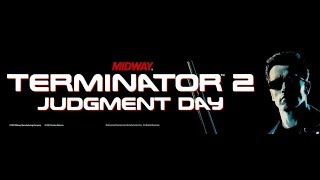Terminator 2 Arcade Playthrough