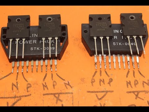 STK407-070 New Replacement IC Audio Amplifier Integrated Circuit