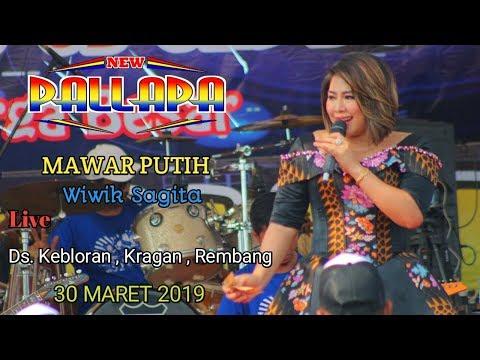 Mawar Putih - Wiwik Sagita - New Pallapa Kragan Rembang 30 Maret 2019