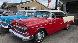 Test Drive 1955 Chevrolet Bel Air $29,900 Maple Motors