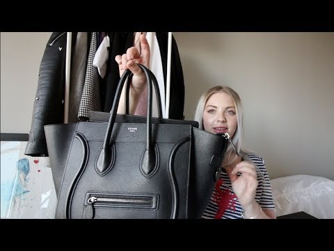 June Favourites - In Depth Celine Mini Luggage Review, Hair Oils, Rain Boots! Citizens For Humanity!