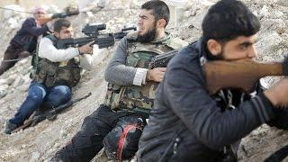 أخبار عربية | إصابة 22 فردا من الجيش الحر في هجوم كيميائي نفذه داعش