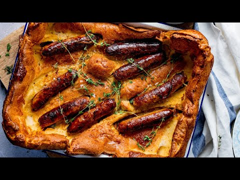Toad in the hole – a British classic!