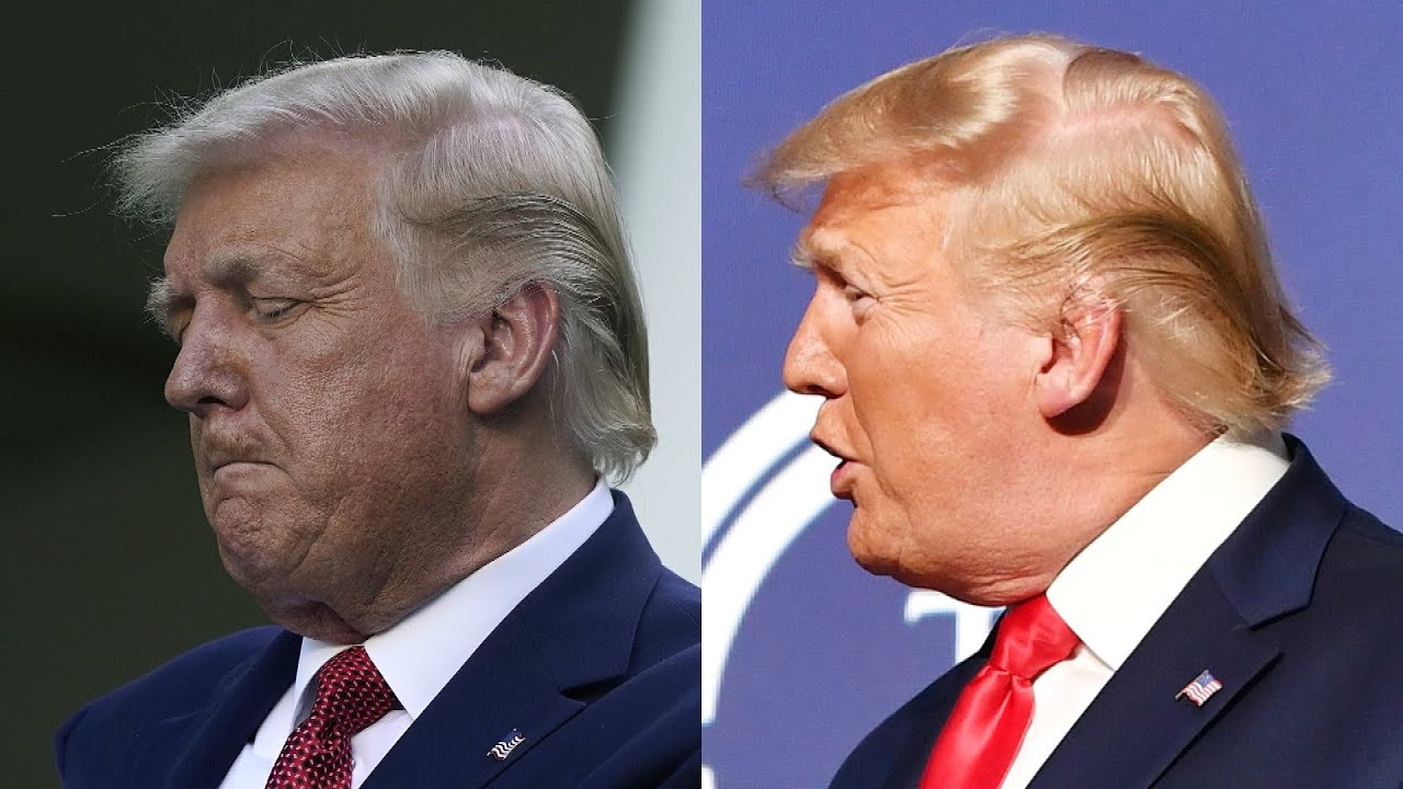 Has President Trump S Hair Been Changing Colors Youtube