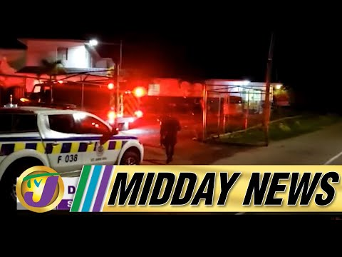 Lockup Set On Fire | Crime Curse in Jamaica | TVJ Midday News