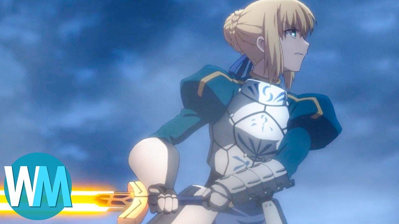 Top 10 magic anime