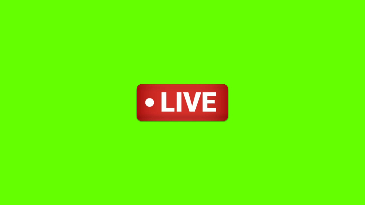Green Screen Live Logo Green Screen Effect Live Logo Live Animation Green Screen Live Logo Youtube