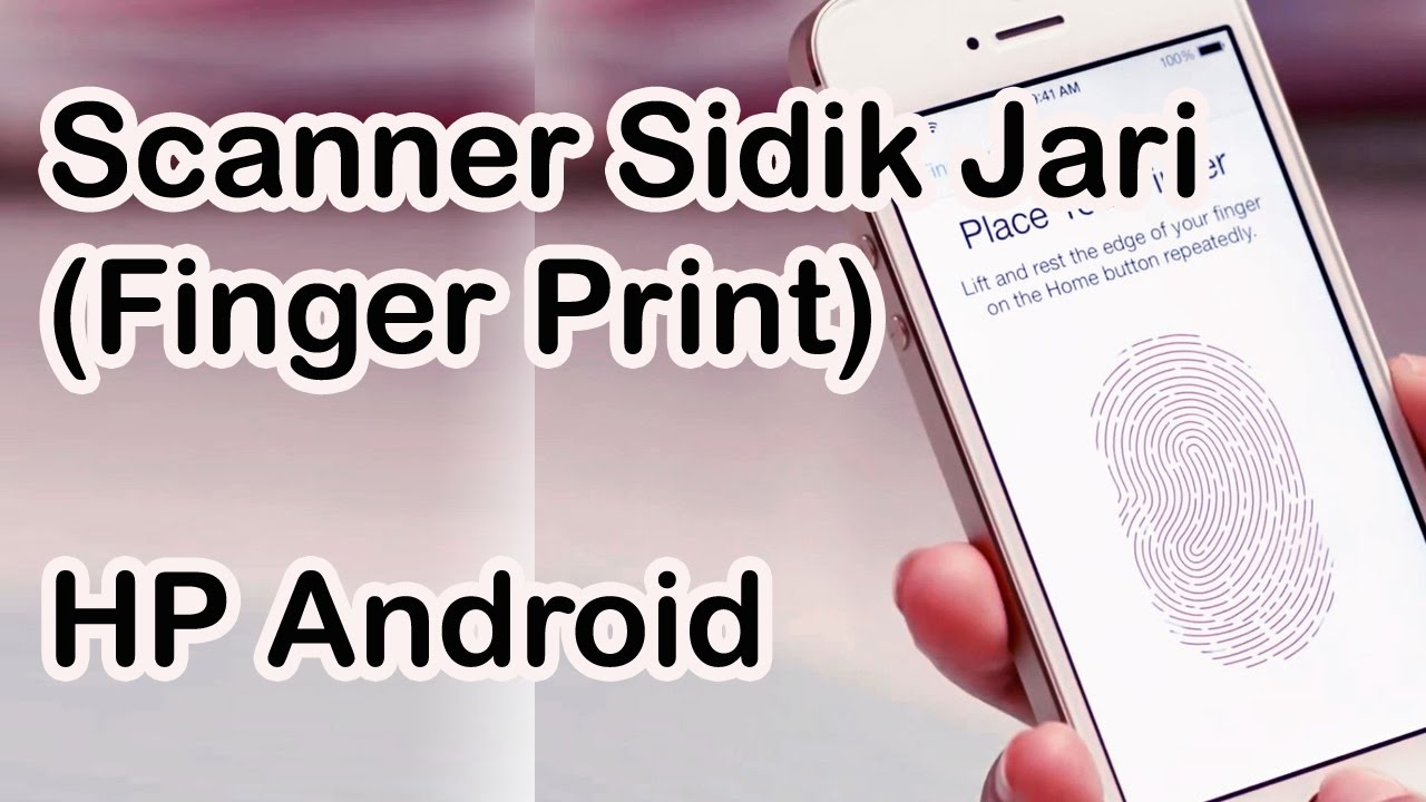 Biar Hp Aplikasinya Aman Pasang Kunci Fingerprint Saja Aplikasi