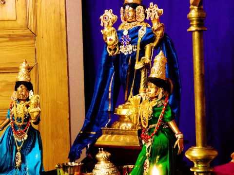 """101 Hymns on Thiruvahindrapuram Devanayaka Perumal (Vishnu) - """"Achyutha Shatakam"""" (Vedanta Desika)"""