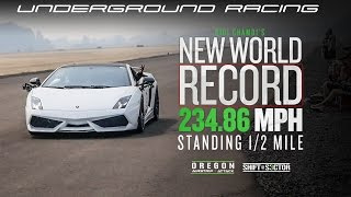 Underground Racing WINS Shift Sector - Oregon  **NEW 1/2 Mile World Record**