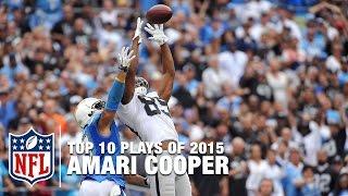Top 10 Amari Cooper Highlights of 2015 | NFL
