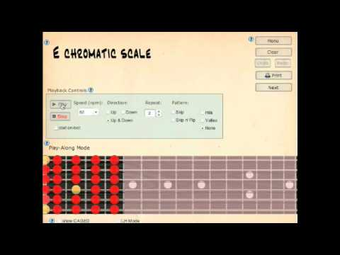 Speed Study on the Guitar with the Super Scale Trainer