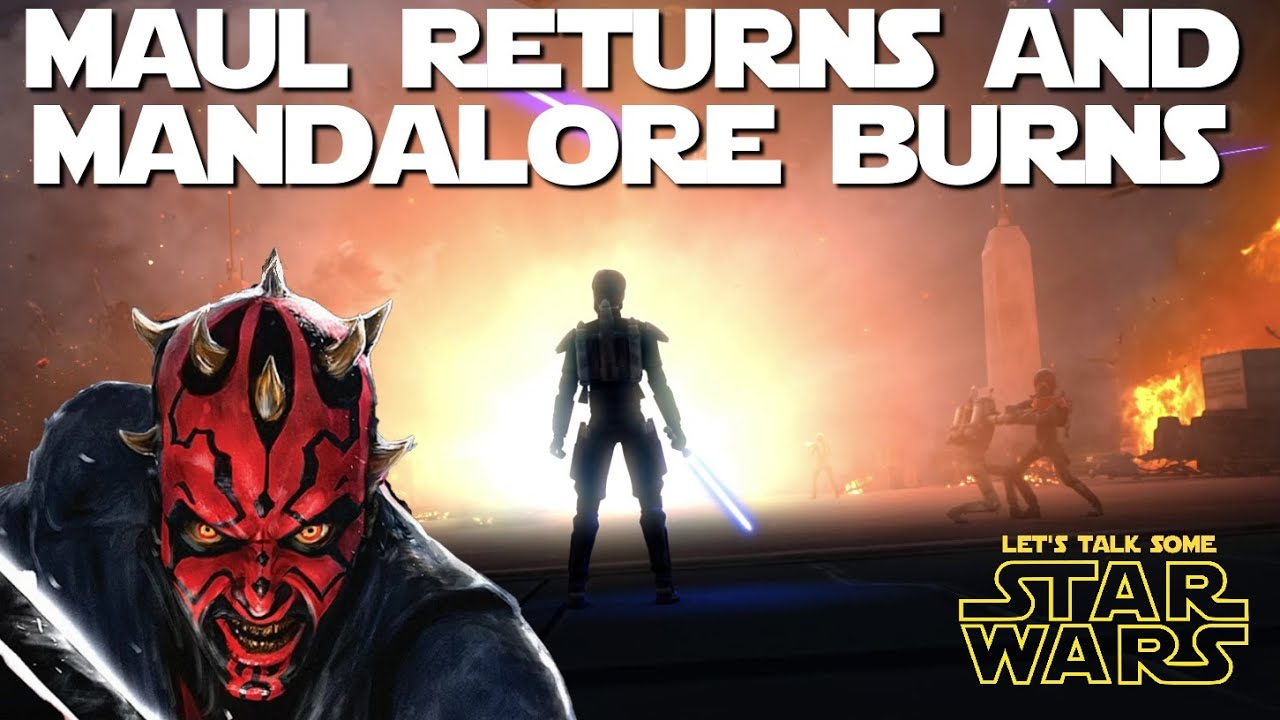 Maul's takeover of Mandalore proves he's more than just a mindless brute (Let's Talk Some Star Wars)