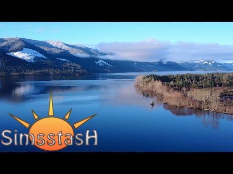 DJI Mavic: Flight In Youbou, Lake Cowichan