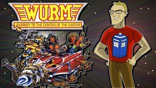WURM: Journey to the Center of the Earth (NES/Nintendo Retro Game Review)