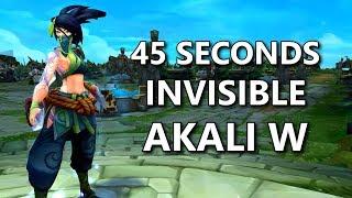 45+ SECONDS Akali W! Spear of Shojin + New Akali Shroud!
